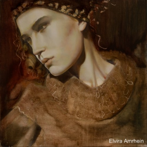 Beautiful paintings by German artist Elvira Amrhein