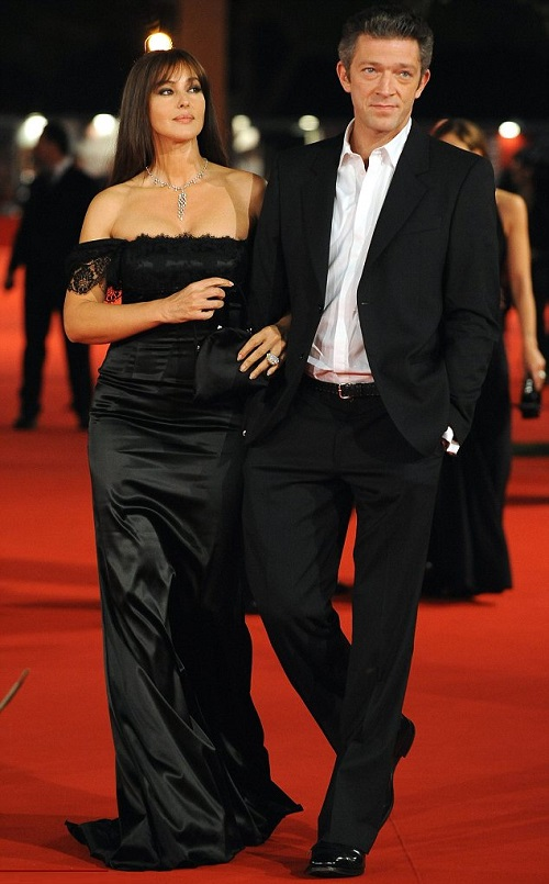 Famous couple Cassel and Bellucci