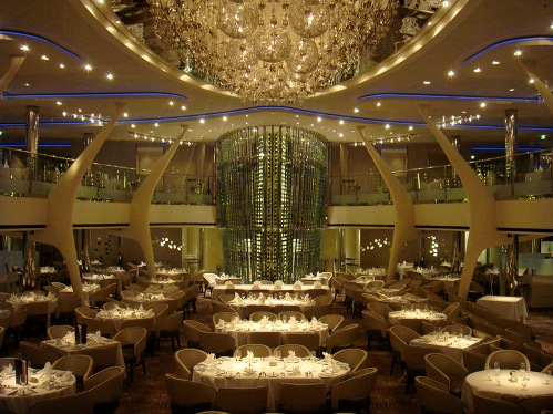 Unusual restaurants from around the globe. Celebrity Solstice - Restaurant