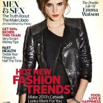 Emma as she graces the cover of 2013 February's Marie Claire UK issue