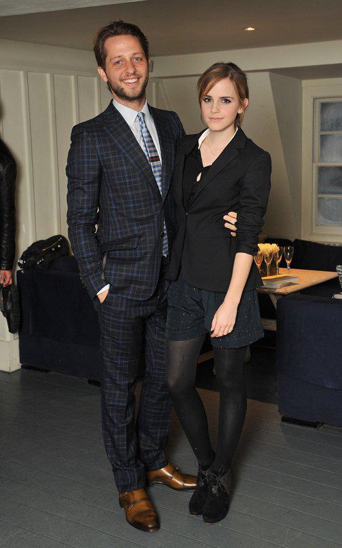 Emma at the Gucci 'Very Classy' by Derek Blasberg Dinner in London, England