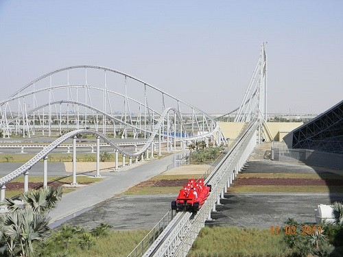 Formula Rossa, the fastest roller coaster in the world