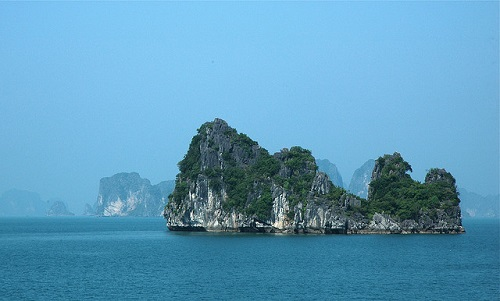 New 7 Wonders of Nature. Halong Bay, Vietnam
