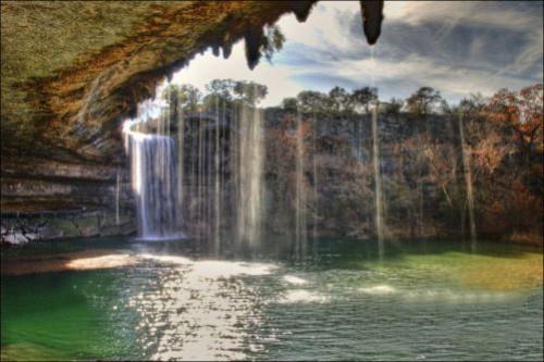 Lake Hamilton in Texas