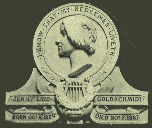 Jenny Lind Memorial in Westminster Abbey