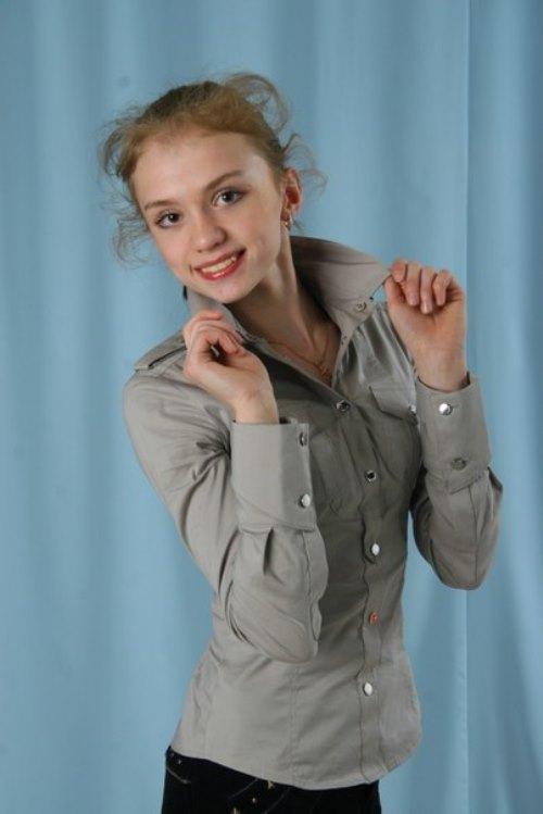 Beautiful gymnast Ksenia Dudkina