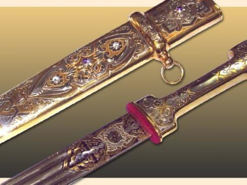 Exquisite Kubachi Silver jewelry