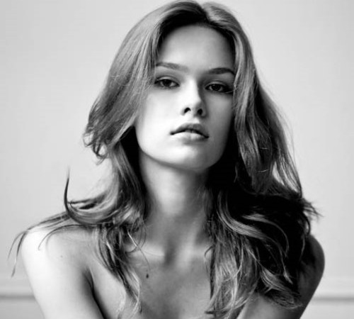 Gorgeous Moscow born model Lada Kravchenko