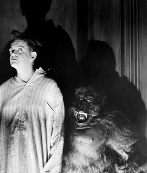 The Gorilla 1927 silent horror film