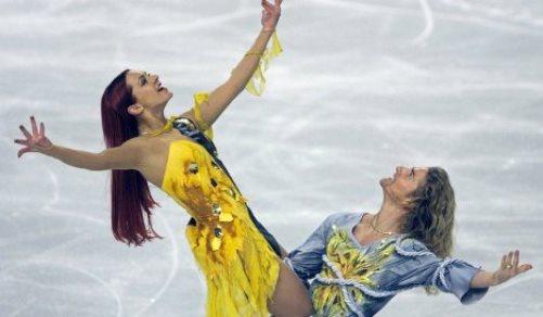 Beautiful Russian ice dancer Marina Anissina