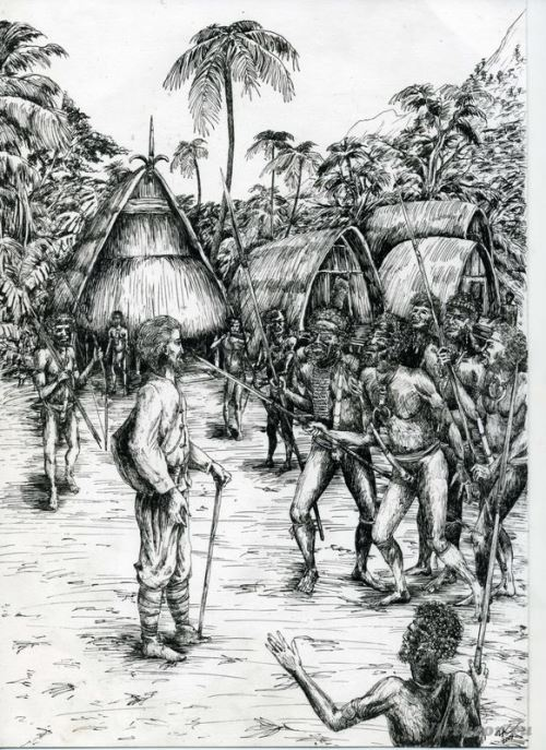 Miklukho-Maklay and Papuans