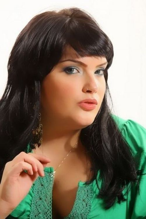 Miss Fat and Beauty Israel. Moran Barannes, the winner of the Israeli Miss Large beauty pageant 'Fat and Beautiful'