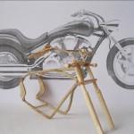 Wooden Mini Motorcycle