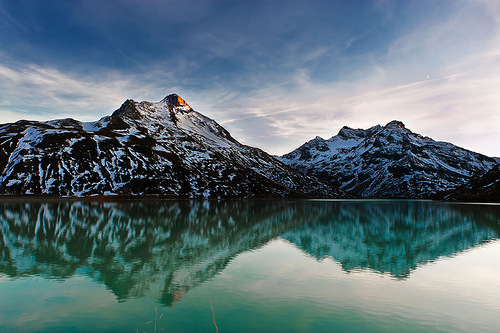 Lake at the Mountains. Breathtaking beauty of natural landscapes in photography by Thomas Zimmer