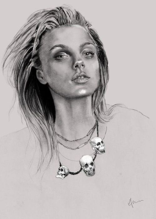 Beautiful pencil Illustrations by Abbey Watkins