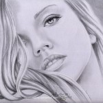 Pencil drawings by Spanish artist Debora Aguelo (Nabey)