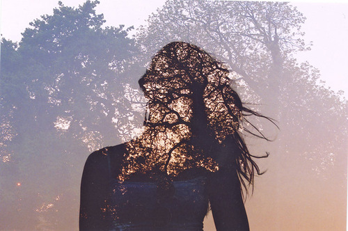 Double Exposure Photos by Oliver Morris
