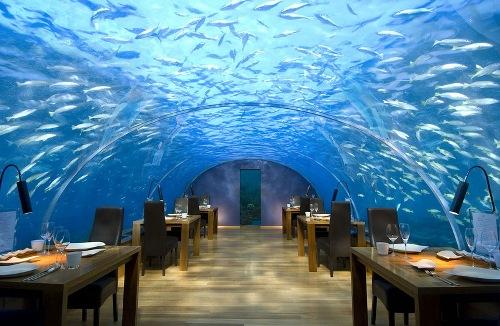 Restaurant Conrad Maldives Rangali Island