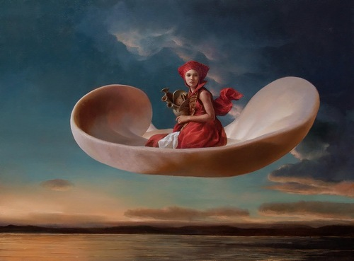 Surreal paintings by Mexican artist Ricardo Fernandez