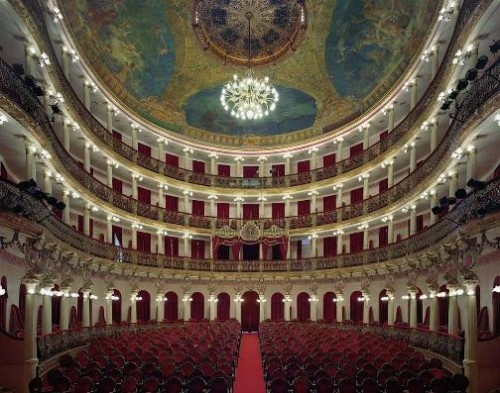 Teatro Amazonas, Manaus, Brazil. Photo by David Leventi