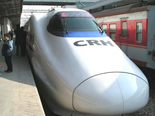 Train Systems of the World. The CRH2 high-speed train model in China