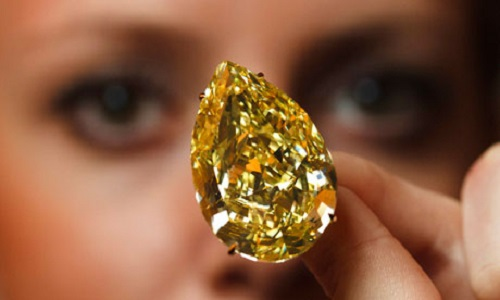 Sun-Drop Diamond - one of the most stunning diamonds in the world