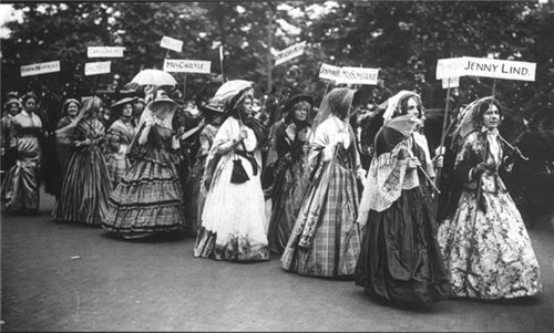 Women's Coronation Procession