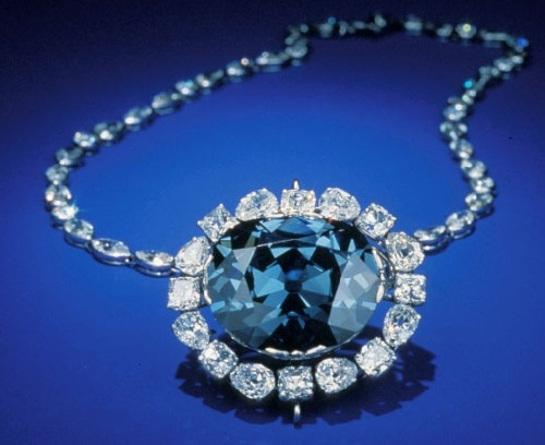 Most famous diamond in the world. The Hope Diamond