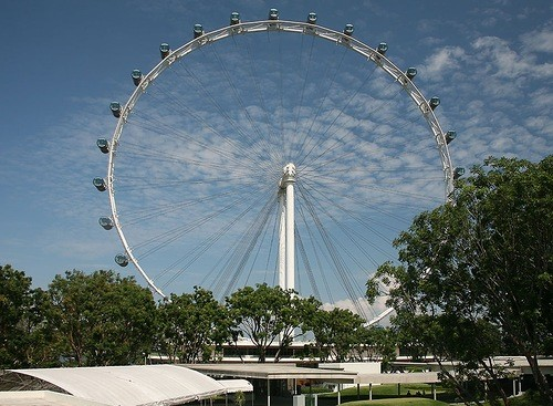 The tallest Ferris wheel in the world – The Singapore Flyer