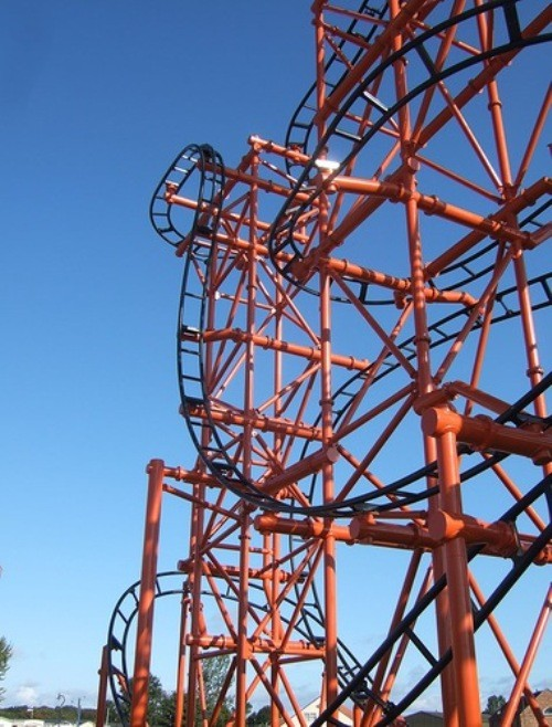 Roller coasters all over the world. The T Express