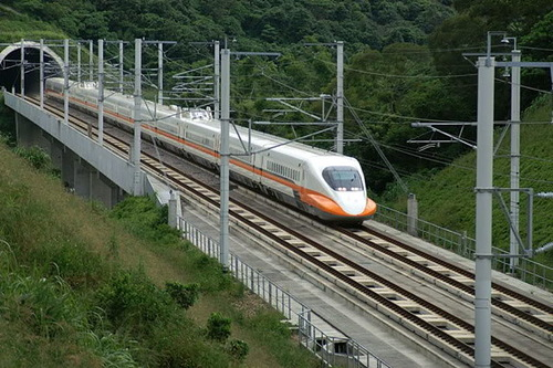 The Taiwan High Speed Rail