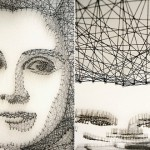 Thread and Nail Portraits by Pamela Campagna