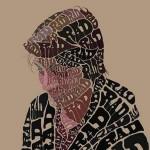RAD Typographic Portrait
