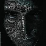 Nine Inch Nail Typographic Portrait