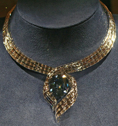 Hope Diamond in its new setting