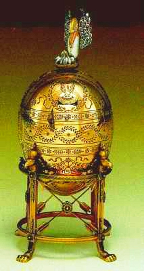 Carl Faberge Easter eggs