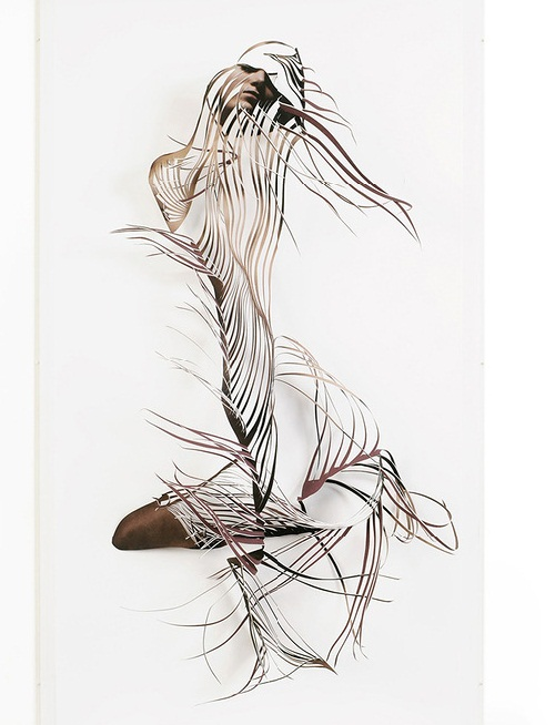 Beautiful paper art by Georgia Russell