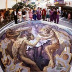 3D illusion by Kurt Wenner