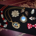 Jewelry decorations with sapphire