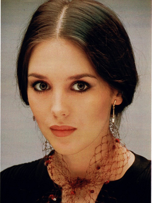 Beautiful French actress Isabelle Yasmine Adjani