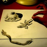 Stunning 3D Pencil Drawings by Fredo