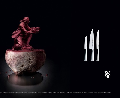 Advertisement posters for WMF Knives