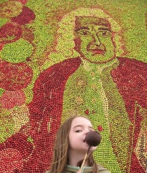 Apple Market Festival in Kivik, Sweden