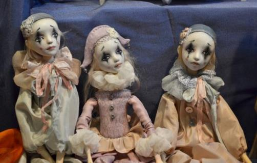 Moscow International Exhibition Art of Dolls