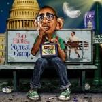 Barack Forrest Obama. Caricatures by American artist Rodney Pike