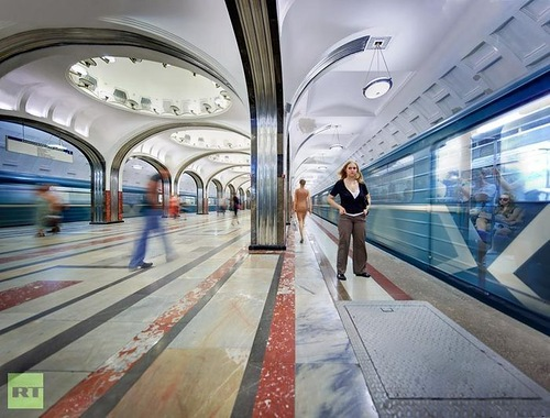 Newly opened Borisovo Metro station