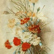 Bouquet of flowers. 1910