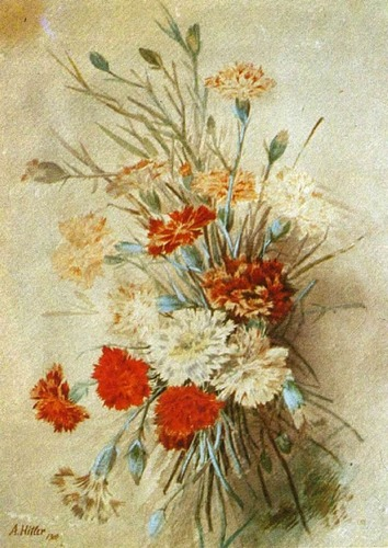 Bouquet of flowers. 1910