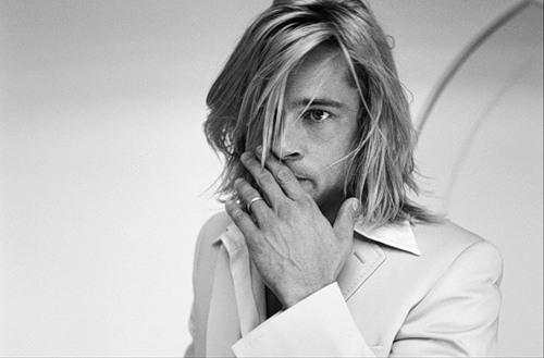 Tribute to handsomeness Brad Pitt and Alain Delon