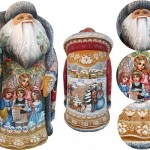 Inspired by Russian folk crafts Christmas decoration by Andrew and Vicka Gabriht